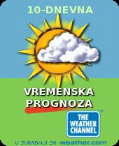 Vremenska prognoza na vrt.com.hr